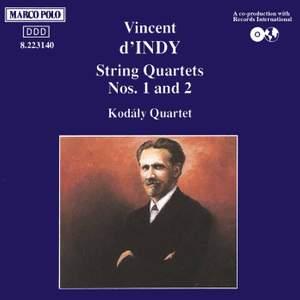 d'Indy: String Quartets Nos. 1 & 2 Product Image