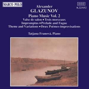 Glazunov: Piano Music Vol. 2