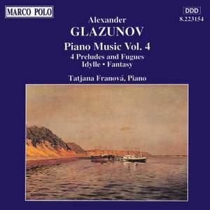 Glazunov: Piano Music Vol. 4
