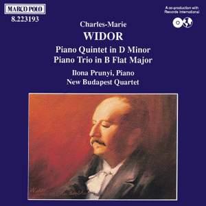 Widor: Piano Trio & Piano Quintet Product Image