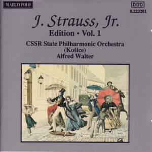 Johann Strauss II Edition, Volume 1