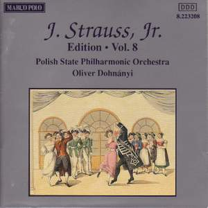 Johann Strauss II Edition, Volume 8