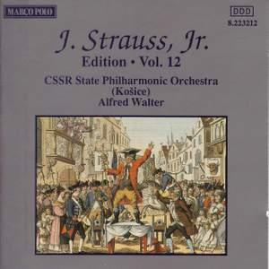Johann Strauss II Edition, Volume 12