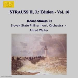 Johann Strauss II Edition, Volume 16