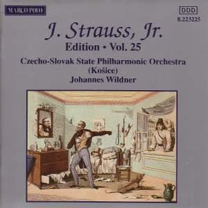 Johann Strauss II Edition, Volume 25