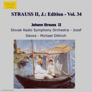 Johann Strauss II Edition, Volume 34