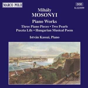 Mihaly Mosonyi: Piano Works Vol. 3