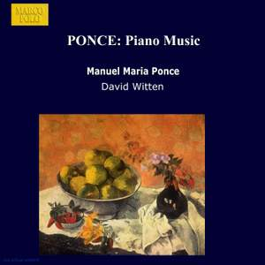 Manuel Ponce: Piano Music