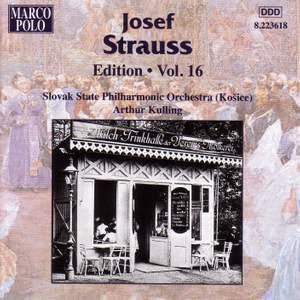Josef Strauss Edition, Volume 16
