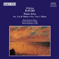 Félicien David: Piano Trios 2 & 3