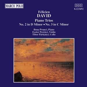 Félicien David: Piano Trios 2 & 3 Product Image