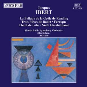 Ibert: La Ballade de la Geole Reading and other works Product Image