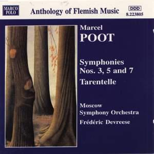 Marcel Poot: Symphonies Nos, 3, 5 & 7