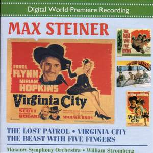 Max Steiner: The Lost Patrol/Virginia City Product Image