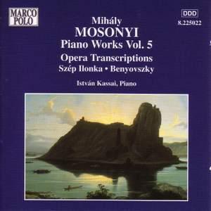 Mosonyi: Piano Works, Vol. 5