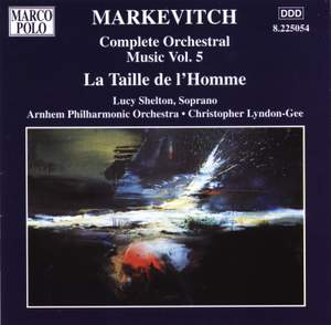 Igor Markevitch: Orchestral Music, Vol. 5