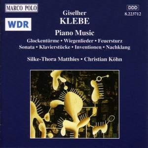 Giselher Klebe: Piano Music Product Image