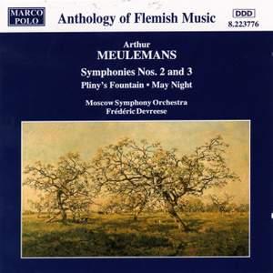 Arthur Meulemans: Symphonies Nos. 2 & 3