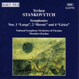 Yevhen Stankovytch: Symphonies Nos. 1, 2 and 4 Product Image