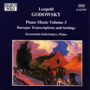 Godowsky - Piano Music Volume 3 Product Image