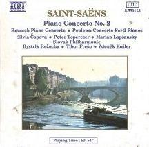 Saint-Saëns, Roussel & Poulenc: Piano Concertos