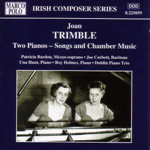 Joan Trimble: Songs and Chamber Music