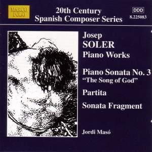 Josep Soler: Piano Works