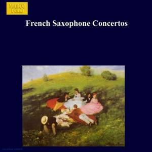French Saxophone Concertos Product Image