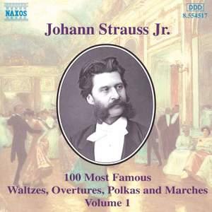 Johann Strauss II: 100 Most Famous Waltzes Vol. 1