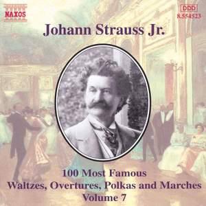 Johann Strauss II: 100 Most Famous Waltzes Vol. 7