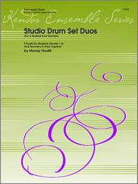 Murray Houllif: Studio Drum Set Duos (For A Student And Teacher)