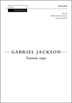 Jackson, Gabriel: Tantum ergo