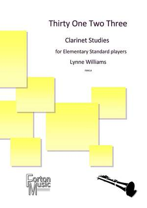 Williams, Lynne: Thirty One Two Three Clarinet Studies