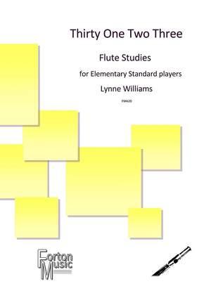 Williams, Lynne: Thirty One Two Three Flute Studies