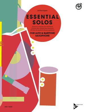 Harrington, J: Essential Solos for Alto & Baritone Saxophone