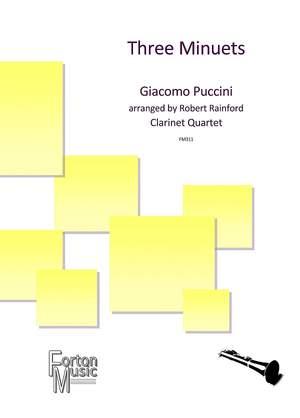Puccini, Giacomo: Three Minuets