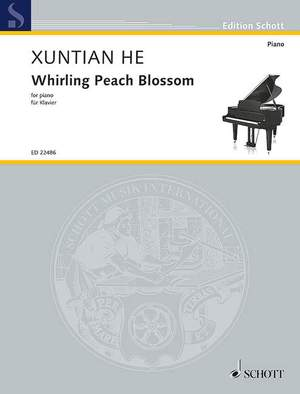 He, X: Whirling Peach Blossom Product Image