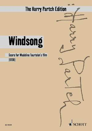 Partch, H: Windsong