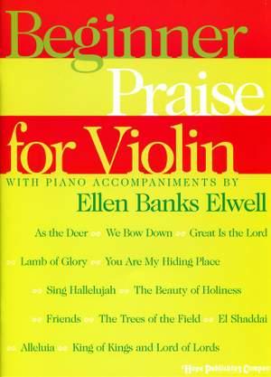 Beginner Praise for Violin