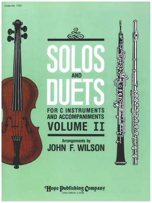 Solos and Duets for C Instruments & Acc., Vol. II