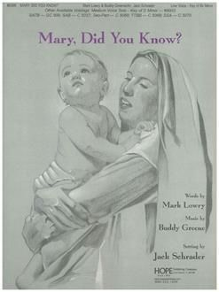 Buddy Greene: Mary, Did You Know?