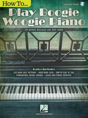 Arthur Migliazza_Dave Rubin: How to Play Boogie Woogie Piano