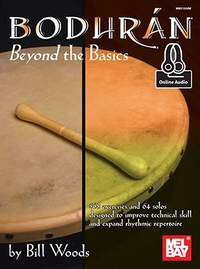 Bill Woods: Bodhran: Beyond The Basics Book With Online Audio