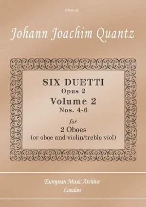 Quantz: Six Duetti Nos. 4-6