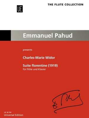 Widor Charles-M: Suite Florentine Product Image