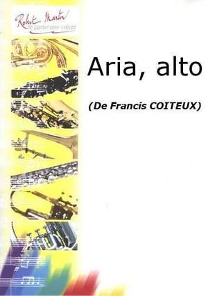Francis Coiteux: Aria