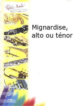 Jacques Devogel: Mignardise