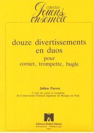 Julien Porret: Douze Divertissements En Duos