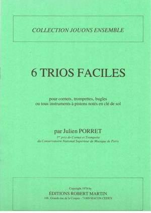 Julien Porret: SIX Trios Faciles