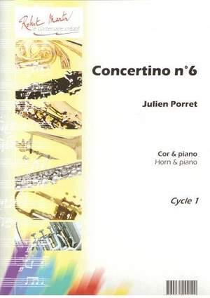 Julien Porret: Concertino N°6